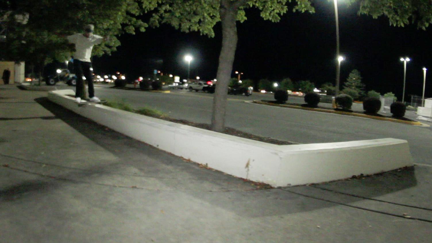 MJ longboardslide