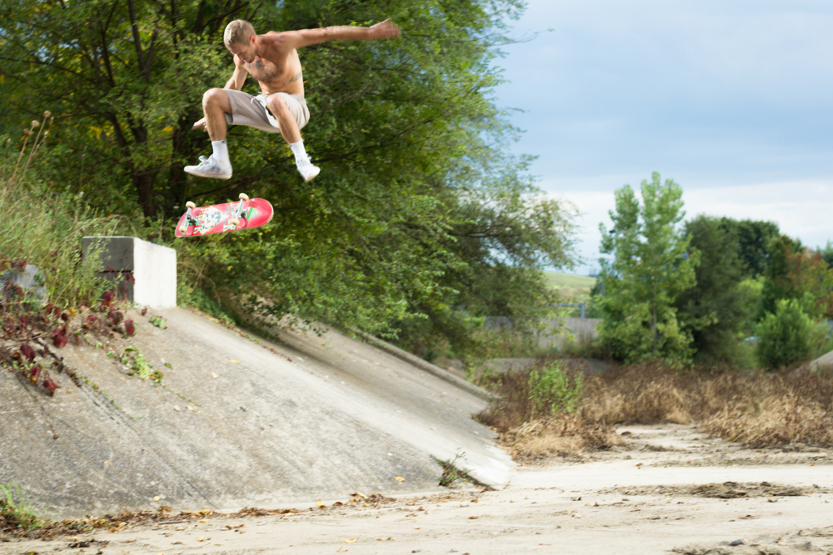 Mike Smith Kickflip Ditch copy