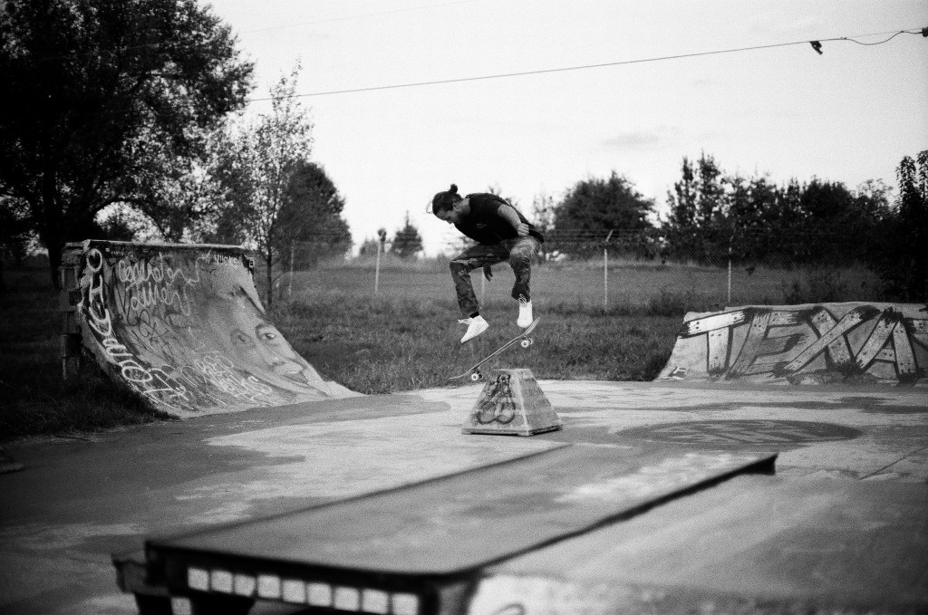 Rudy Backside Flip